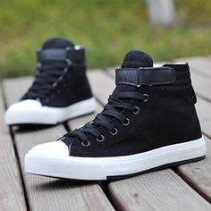 Buy 'Stylefeet – Belted Velcro High-Top Sneakers' with Free International Shipping at YesStyle.com. Browse and shop for thousands of Asian fashion items from China and more!