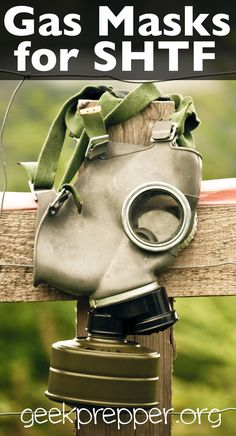 Gas masks will greatly help your chances of survival in a post disaster or post SHTF scenario. geekprepper.org