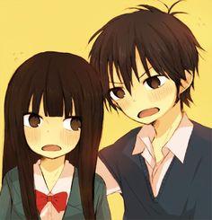sawako and kazehaya chibi - Google Search
