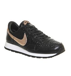 the best attitude 84089 6dcb3 Nike Air Pegasus 83 Black Metallic Rose Gold Prem Quilted - His trainers