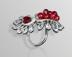 David Morris Corsage Collection ring