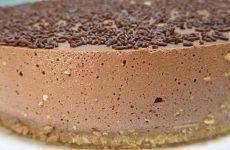 Cheesecake Delicia de Chocolate