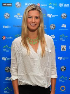 Eugenie Bouchard at the Players Party of the Apia International Sydney 2014 #WTA #Bouchard #Sydney