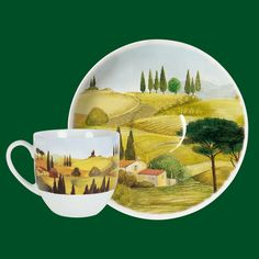 Espresso Coffee Cup | Tuscany