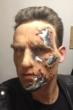 The Terminator | 10 Amazing Makeup Transformations                                                                                                                                                                                 More