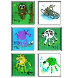 New at the Zoo: Handimals Souvenir Artwork - Town Square - Royal Oak, MI Patch