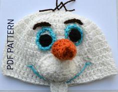 Disney's Frozen Inspired Olaf Hat Crochet Pattern by SpearCraft, $3.99