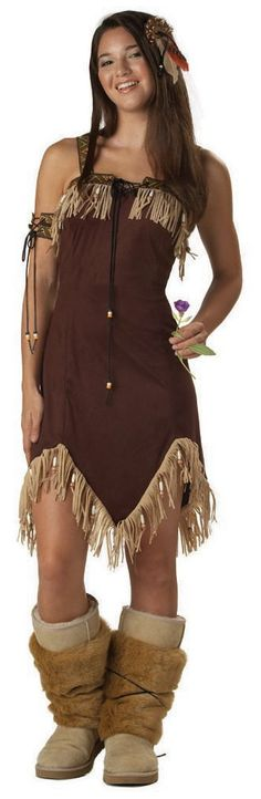 Indian Costumes for Women | pocahontas indian costume Famous Princess Pocahontas Costume