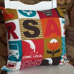 I LOVE RSA Taxi Style 50x50cm Cushion including Inner