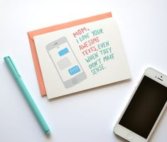 For the typical texting parent: | Community Post: 33 Perfect Mother's Day Cards For Every Kind Of Mom