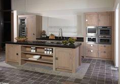 info over landelijke keukens keukenopstelling eilandkeuken tieleman