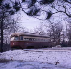 From Swanboatsteve: A bit of winter from December 29, 1967 at High Park Loop.