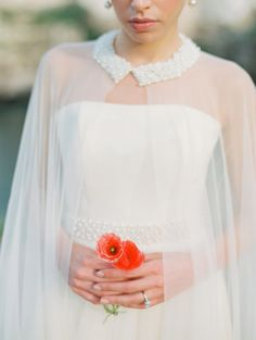 Currently Coveting: Wedding Capes