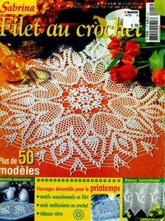 Sabrina №1 2004 Filet au crochet
