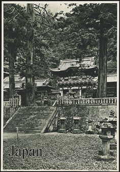 Japan. Toshogu Shrine, Nikko by Boston Public Library, via Flickr