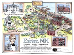 Phillips Exeter Academy Campus Map.10 Best Exeter Nh Local Information Images Exeter New Hampshire