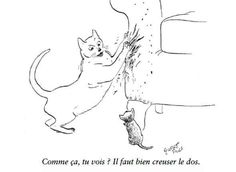 «The+New+Yorker,+l'humour+des+chats»