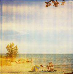 Healthy Life, Polaroid, Beach, Creative, Ninja, Toronto, Photographs, Painting, Art