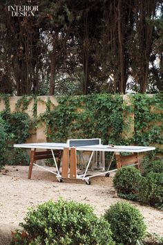 A Well-Designed, Folding Ping Pong Table - Design Milk Folding Ping Pong Table, Table Ping Pong, Outdoor Ping Pong Table, Outdoor Sofa, Outdoor Furniture, Outdoor Decor, Outdoor Games, Asian Furniture, Plywood Furniture