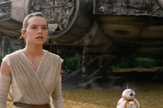 Star Wars VII - The Force Awakens / Rey and BB-8