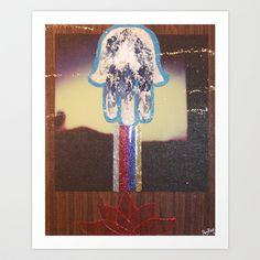 Blessings! Art Print by Kabir-Jesús - $90.48