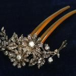 Gorgeous hairpin-brooch in original box (4)