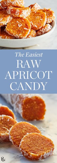 The Easiest Raw Apricot Candy Candy Recipes, Raw Food Recipes, Healthy Recipes, Paleo Dessert, Dessert Recipes, Dessert Food, Just Desserts, Delicious Desserts, Apricot Recipes