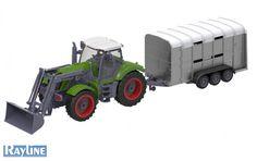 RC Traktor mit Anhänger QY8301G Nutzfahrzeug