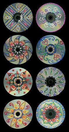 cd art for kids / cd art ` cd art projects ` cd art diy ` cd art aesthetic ` cd art for kids ` cd art painting ` cd artwork cd art ` cd art projects old cds Recycled Cds, Recycled Art Projects, Recycled Crafts, Craft Projects, Teen Art Projects, Old Cd Crafts, Crafts With Cds, Unique Art Projects, Recycled Windows