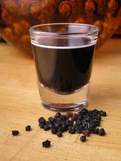 Homemade Elderberry Syrup Recipe | The Hungry Mouse..Elderberry syrup is an old folk remedy for colds, flu, bronchitis, and fever. It's been used for centuries in Europe