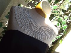 Glamorous Vintage Faux Pearl Collar by RuthiesThisandThat on Etsy, $24.00