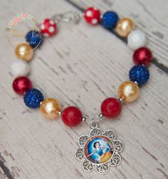 Princess Snow White Inspired Necklace
