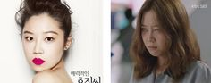 Pretty girls gone ugly: 10 successful K-drama reverse makeovers