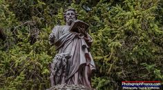 This statue stands above the source of the Fountain of Saint Mark in Chaumussay France.   #Indre-et-Loire #France #Photography #Photogs Travel Indre-et-Loire