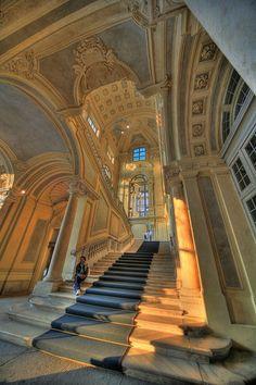 Palazzo Madama,by the architect Antonio Juvarra,  Turin, Province if Turin, Piemonte region Italy
