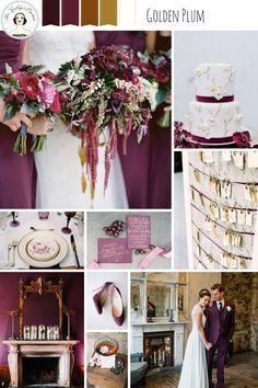 Golden Plum – Rich and Romantic Winter Wedding Inspiration