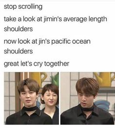 Pacific Ocean shoulders indeed