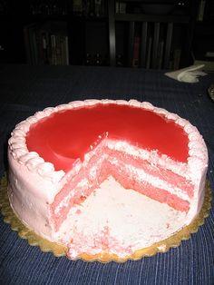 Guava chiffon cake! My very favorite cake ever :-p