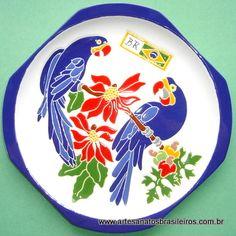 Artesanato - Aves do Pantanal