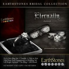 by earthstones for the gothic couple.