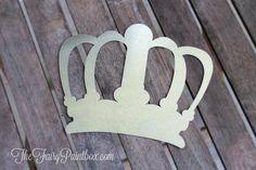 Metal Queen King Royal Galvanized Steel Wall Crown, Princess Prince Nursery Metal Crown Newborn Photo Prop Baby Crown Wedding Crown Decor