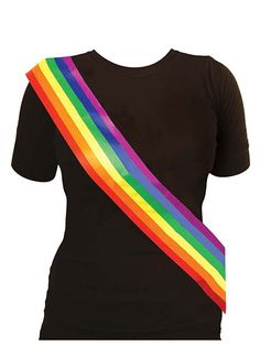 Lgbt Dress Up Anthem Pride Festival Summer Rainbow Sash Gay Lesbian Unity Diy Rainbow Birthday Party, Coming Out Party, Pride Outfit, Rainbow Pride, Gay Pride, Lgbt, Lesbian, Dress Up, Summer Dresses