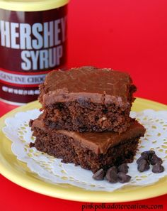 Chocolate Syrup Cake