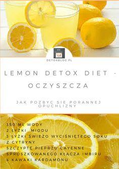 Lemon detox diet - oczyszcza