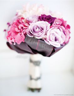 #pink and #purple bouquet