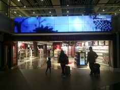 small walk through duty free. small section of duty free in the airport selling spirits/wine/beer/cigaretts/chocolate etc