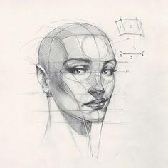 "좋아요 10.5천개, 댓글 43개 - Instagram의 FERHAT EDİZKAN(@edizkan)님: ""Reilly Head Abstraction method, portrait from imagination  #imagination  #illustration #drawing…"""