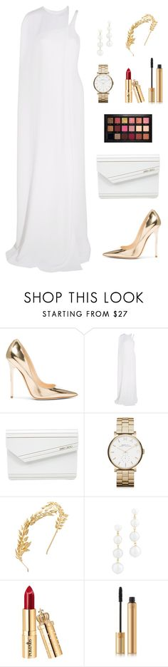 """""""Untitled #279"""" by bajka2468 on Polyvore featuring Jimmy Choo, STELLA McCARTNEY, Marc by Marc Jacobs, Avigail Adam, Rebecca Minkoff, Yves Saint Laurent and Huda Beauty"""
