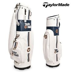 TaylorMade Classic Caddy Golf Bag Iron Club Bag Backpack Staff White B78769  for sale online  acee707b39e96