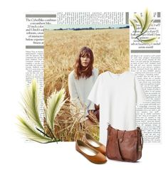 """""""The Field"""" by colette-3 ❤ liked on Polyvore featuring Monki, Ollio and Frye"""